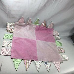 Child of Mine Carters Baby Lovey Pink Taggie